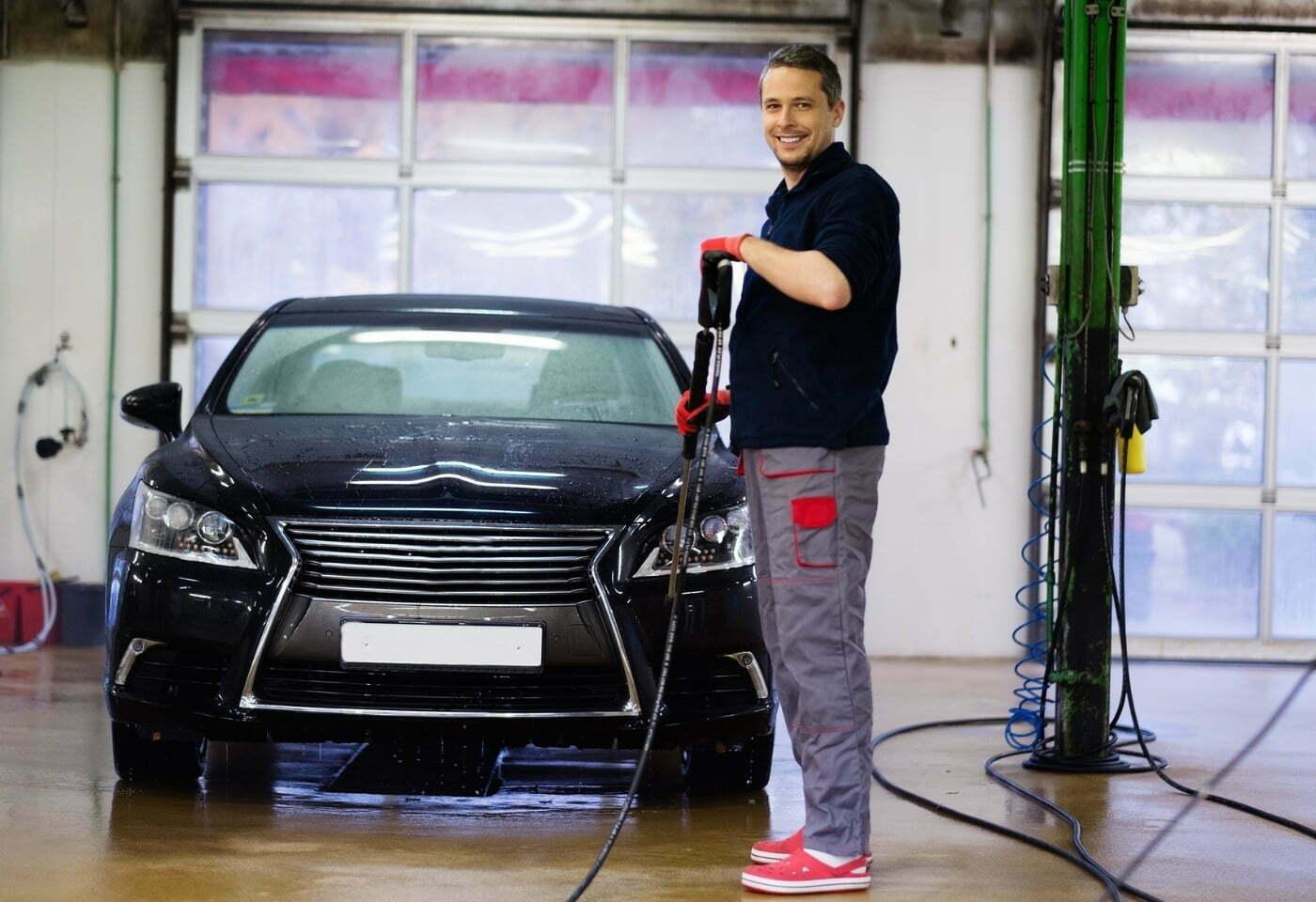 Mycie samochodu po zimie